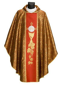 North East Church Supplies range of vestments suitable for Pentecost