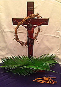 Easter Crucifiction Display