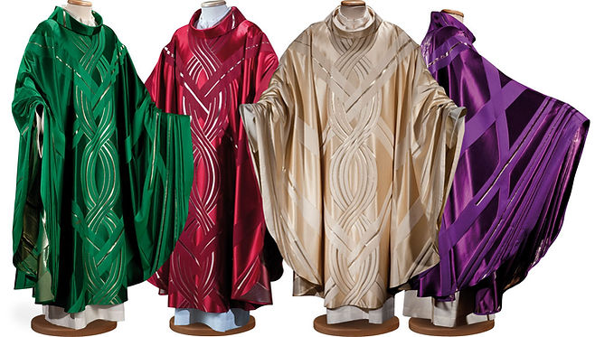 North East Church Supplies Italia Range Chasubles