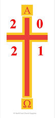 Vinyl Paschal Candle Transfer - CTSF13
