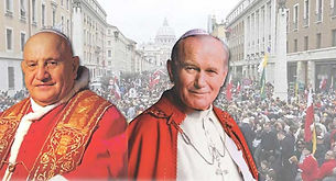 John Paul II & John XXIII