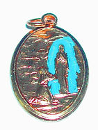 Gift ideas - Our Lady of Lourdes Medal