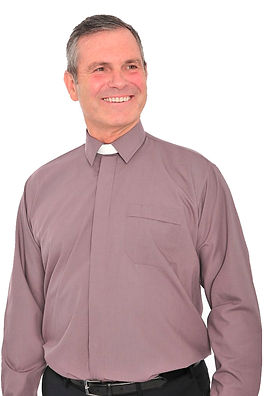 North East Church Supplies Collar Attached Clergy Shirt