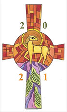 Vinyl Paschal Candle Transfer - CTSF14