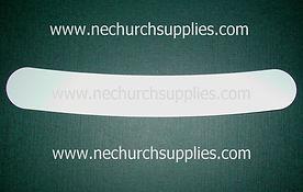 White Slip in tab clergy collars