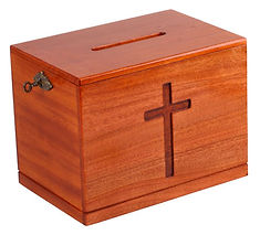 Locking Offertory Box