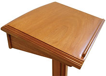 Traditional Mahogany Lectern