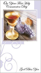 North East Church Supplies First Holy Communion Cards