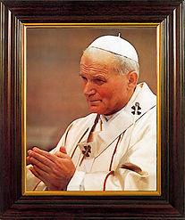 John Paul II Framed Picture