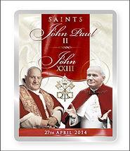 Fridge Magnet/Popes John XXIII & John Paul II.