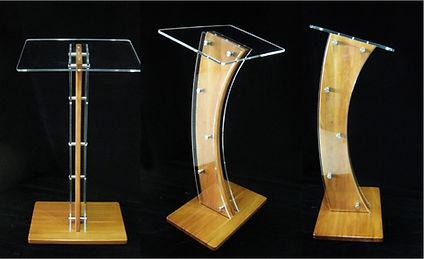 Modern acrylic Lectern