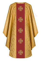 Semi Gothic Style Chasubles North East Church Supplies