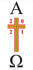 Vinyl Paschal Candle Transfer - CTSF10