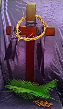 Easter Cross Display