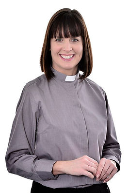 "Ladies 1"" slip in collar clergy shirts"
