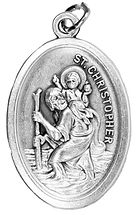 Gift ideas - St Christopher Medal