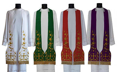 North East Church Supplies Roman Style Priest Stole