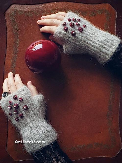 Winter's Fingerless gloves