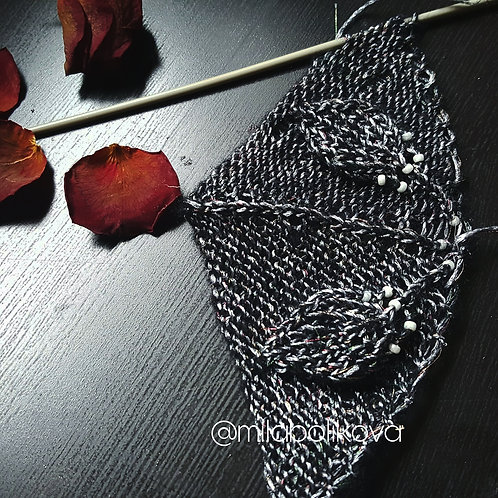 Blacksilver shawl