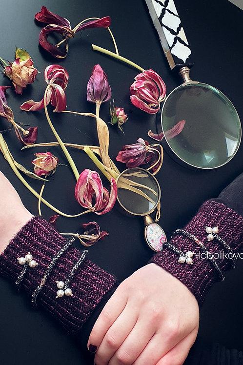 Cuffs Purple moon