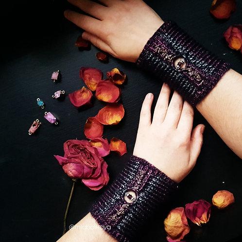 Cuffs Purple Forest