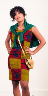 Robe ethnique Tiébissou