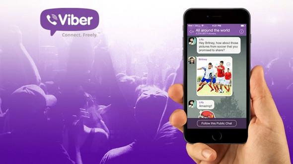 Паблик аккаунт в  Viber