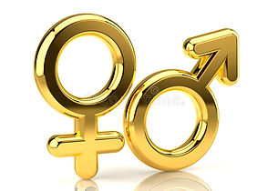 символы-изолированные-женщиной-мыжские-б
