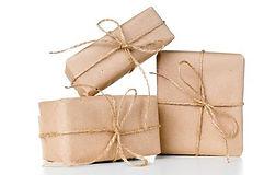 25843011-several-gift-boxes-postal-parce