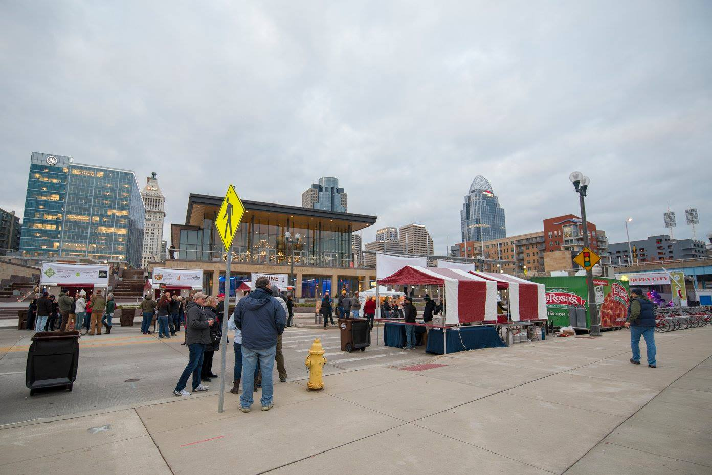 Booths at Ale to the Queen City