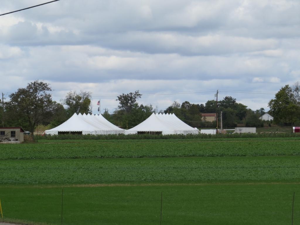Side by Side Pole Tents