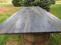 Barrel Bar Top