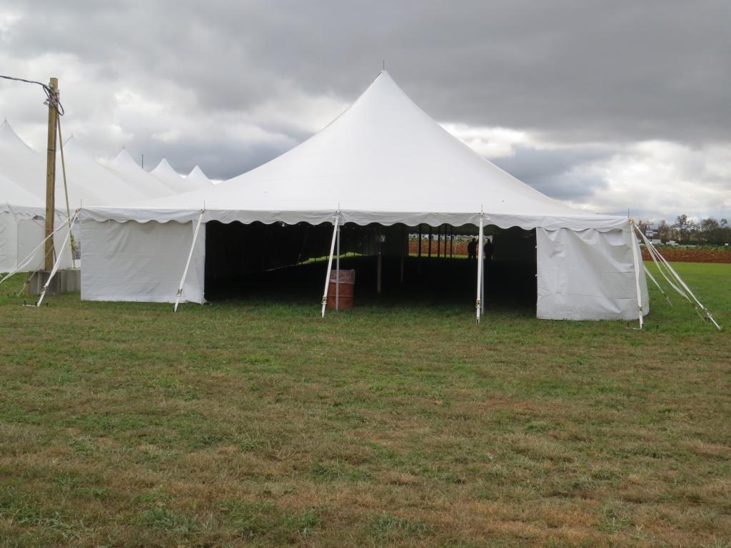 Pole Tent Entrance