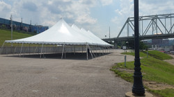 Pole Tent at Newport on the Levee