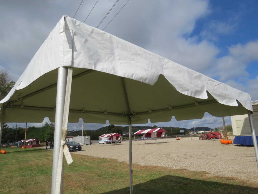 Frame Tent Close Up