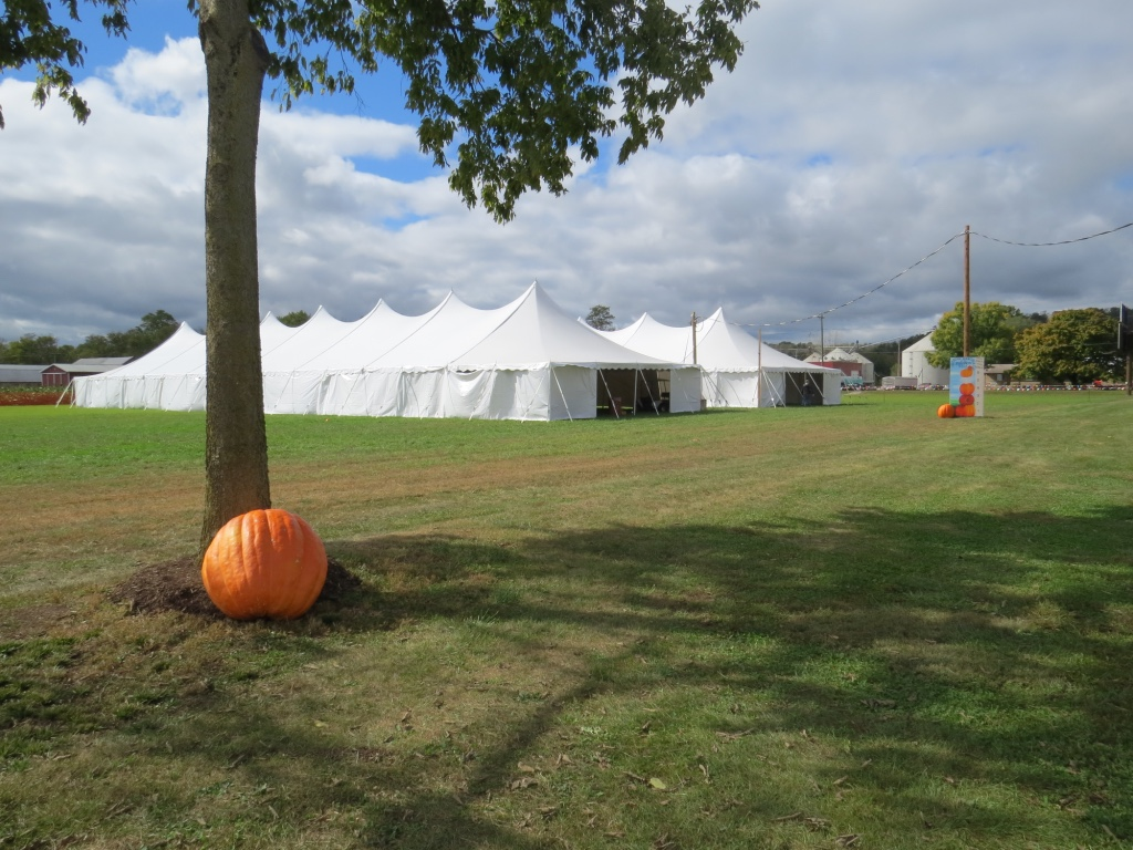 Pole Tents at Weber Farms