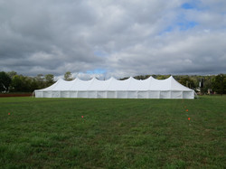 Large Pole Tent - Side View