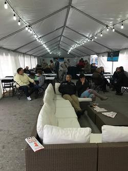 Inside Tent Furniture Set Up