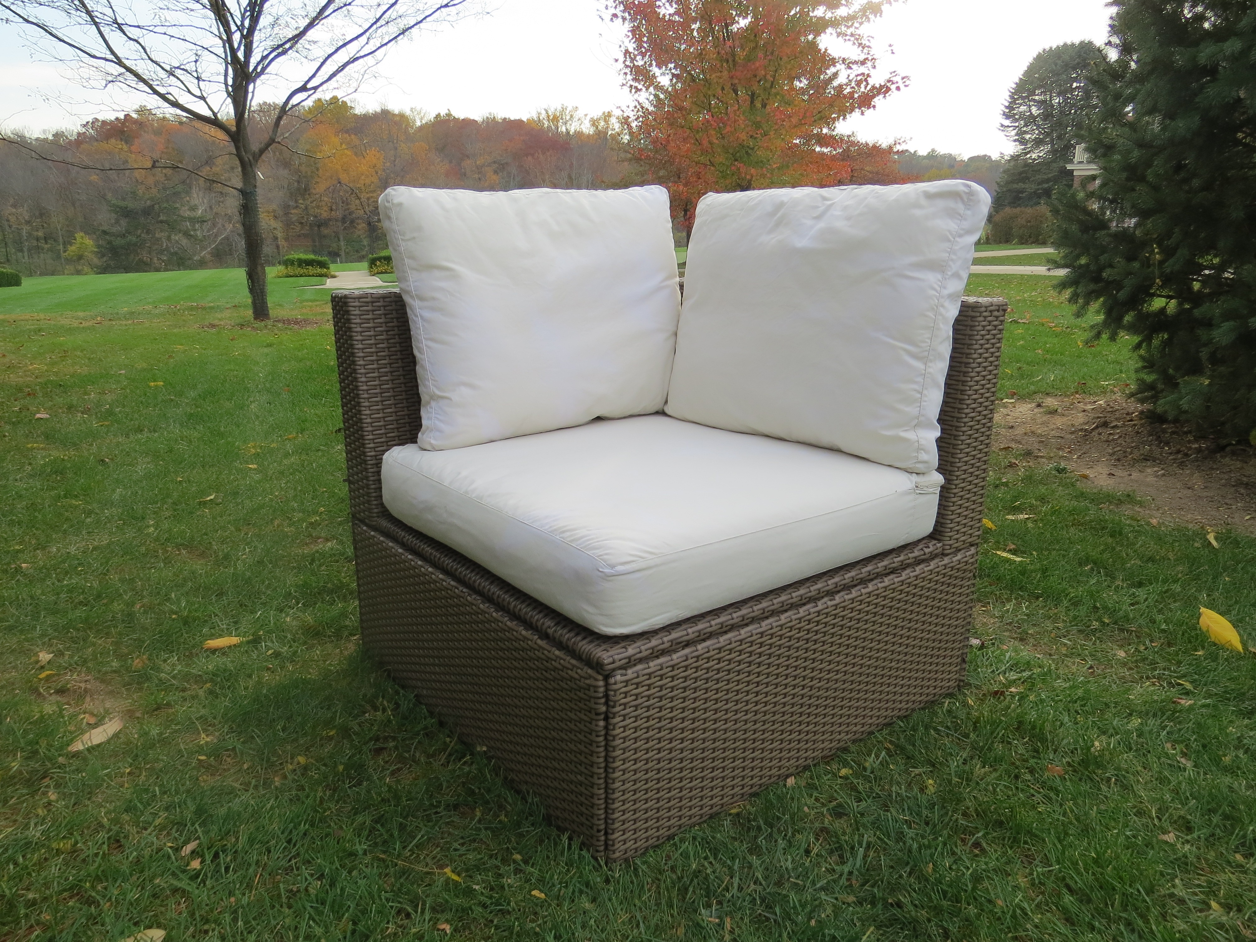Wicker Sectional - End Piece