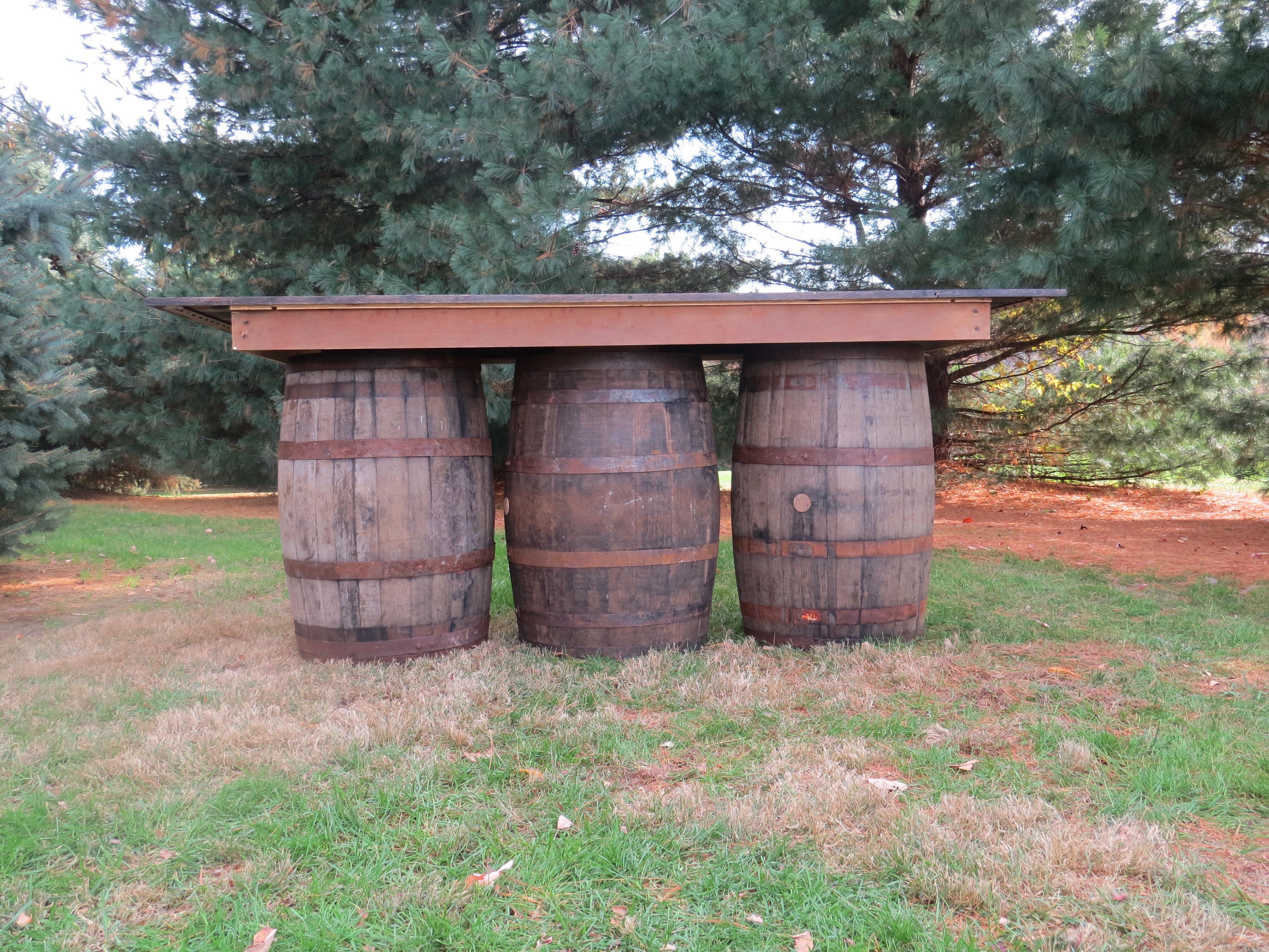 Three Barrel Bar
