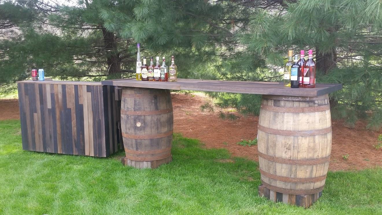 French Park Bar Set Up