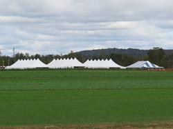 Pole Tent Set Up
