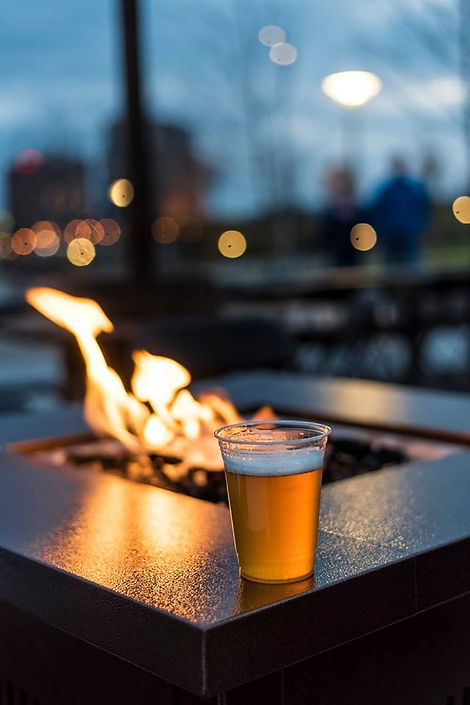 Fire Pit for Rent Cincinnati Wedding Event Rentals