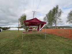 Festival Booth - Side View