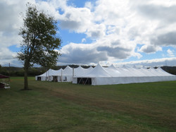 Three Pole Tents - Entrance