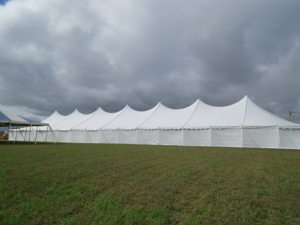 Pole Tent - Side View