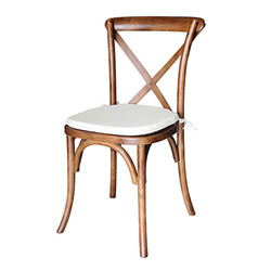 Wood Crossback Chair