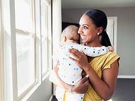 Mère avec son bébé