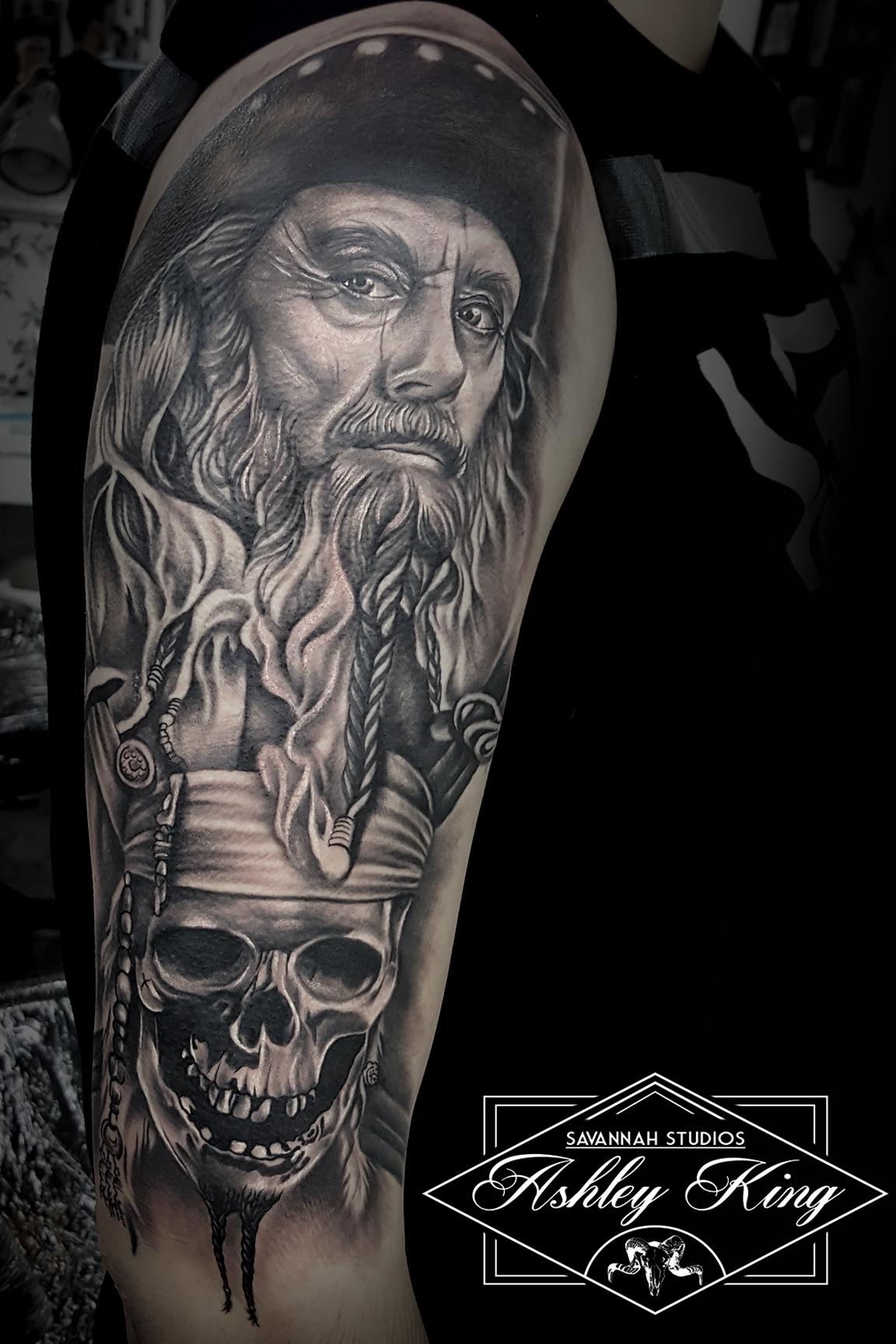 Black beared 2
