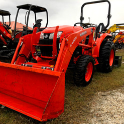 Tractor, 34hp, Front Loader